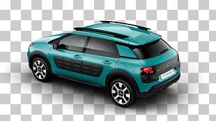Citroën C4 Cactus Compact Car Sport Utility Vehicle PNG