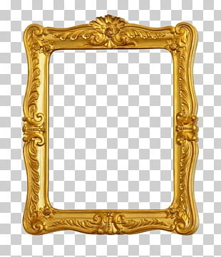 Frame Gold Stock Photography Ornament Film Frame PNG