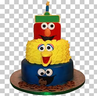 Birthday Cake Cupcake Cookie Monster Elmo Butter Cake PNG
