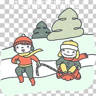Snow Child PNG