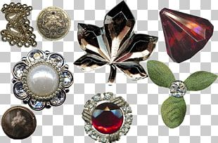 Gemstone Brooch Body Jewellery Jewelry Design PNG