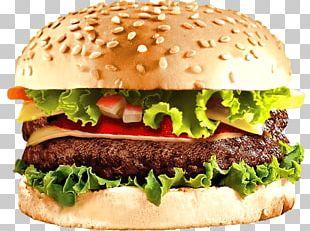 Hamburger Cheeseburger Veggie Burger PNG