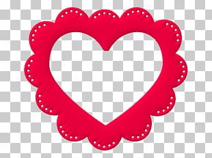 Valentine's Day Love Heart Gift PNG