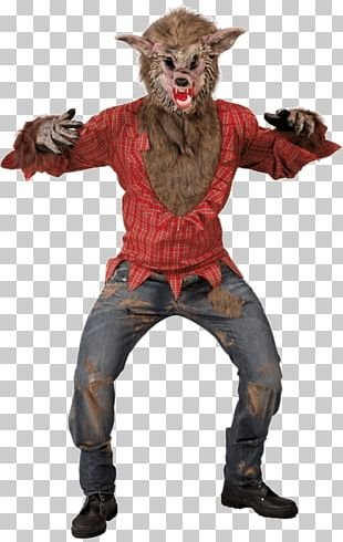 Big Bad Wolf Costume Party Halloween Costume PNG