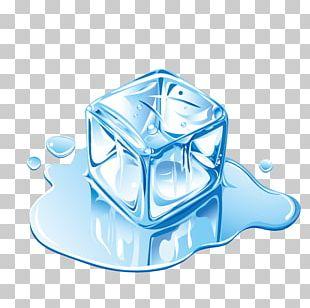 IceCube Neutrino Observatory Melting Ice Cube PNG