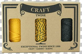Baling Twine Craft Cord Cotton PNG