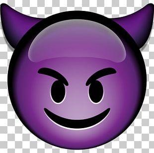 Emoji Devil Emoticon Purple Innovation Smile PNG