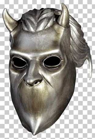 Ghoul Ghost Latex Mask Costume PNG