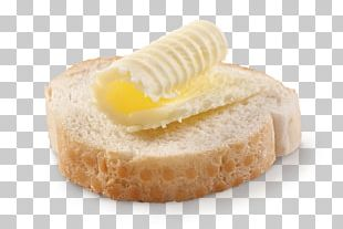 Butter Toast Food Animal Fat Dairy Products PNG