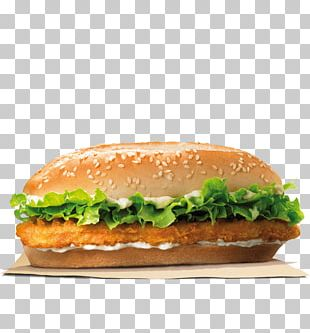 Chicken Sandwich Burger King Specialty Sandwiches Whopper Hamburger Burger King Chicken Nuggets PNG