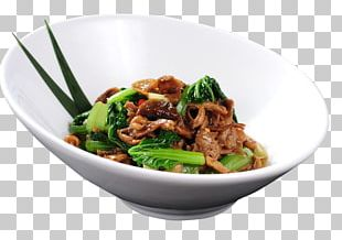 Phat Si-io Twice Cooked Pork Chow Mein American Chinese Cuisine Bok Choy PNG