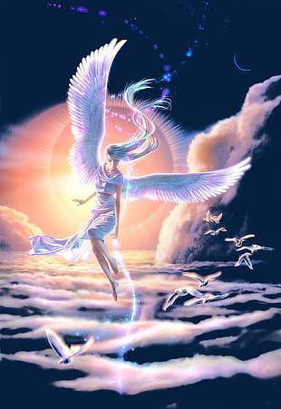 Angel Girl PNG