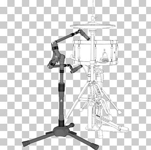 Microphone Stands Snare Drums PNG