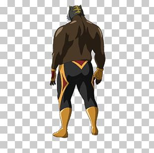 Character Wetsuit Professional Wrestler Fiction Tiger Corporation PNG