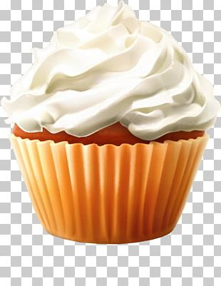 Cupcake Heaven Frosting & Icing Cream Muffin PNG