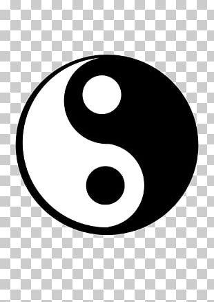 Yin And Yang Logo Computer Icons PNG