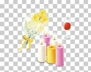 Red Wine Rosxe9 Valentines Day Yellow PNG