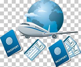 Air Travel Flight Airplane Icon PNG