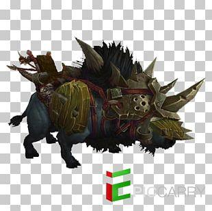 Warlords Of Draenor Wild Boar World Of Warcraft: Legion Warcraft II: Beyond The Dark Portal Concept Art PNG