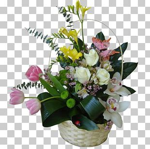 Floral Design Cut Flowers Flowerpot Flower Bouquet PNG