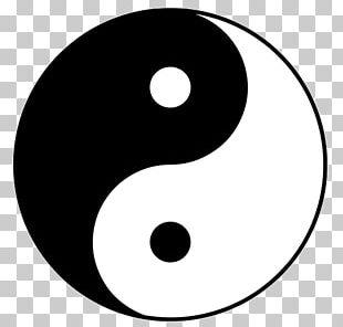 Yin And Yang Taijitu Symbol Taoism PNG