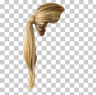 Hairstyle Blond Long Hair Hair Coloring PNG