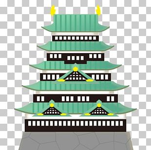 Temple Emoji Emoticon Japanese Castle Text Messaging PNG