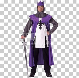 Middle Ages Renaissance Robe Costume Clothing PNG