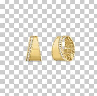 Earring Diamond Cut Jewellery Gold PNG