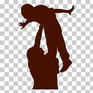 Silhouette Father's Day PNG