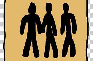 Human Behavior Homo Sapiens Silhouette Logo Font PNG