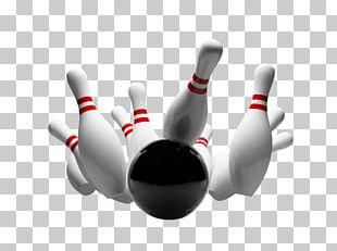 Ten-pin Bowling Strike Bowling Ball Bowling Pin PNG