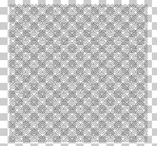 Placemat Point Black And White Angle Textile PNG