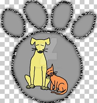 Whiskers Cat Pet Sitting Lynx Paw PNG