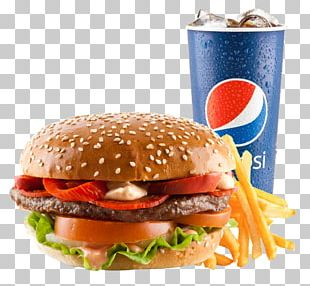 Cheeseburger Whopper Hamburger Breakfast Sandwich French Fries PNG