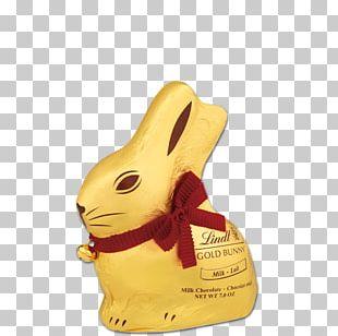 Lindt & Sprüngli Chocolate Bunny Lindor Rabbit PNG