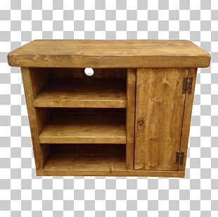 Drawer Wood Stain Buffets & Sideboards Angle PNG