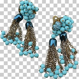 Turquoise Tassel Earrings Turquoise Tassel Earrings Turquoise Tassel Earrings Bead PNG
