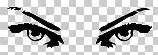 Eyebrow Scalable Graphics PNG