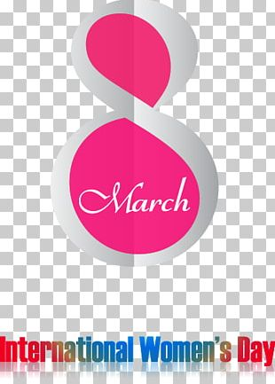 International Womens Day Poster March 8 Valentines Day Woman PNG