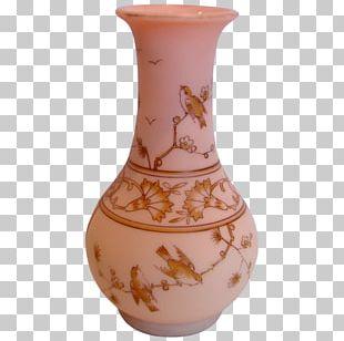 Vase Decorative Arts Glass Art Floral Design PNG