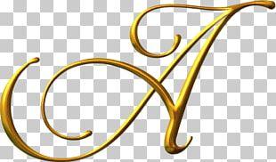 Lettering Alphabet Calligraphy Font PNG