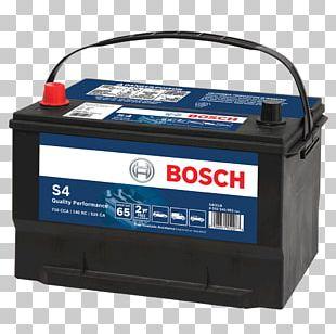 Car Automotive Battery Robert Bosch GmbH VRLA Battery PNG