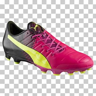 Football Boot Pink Shoe Sneakers Puma PNG
