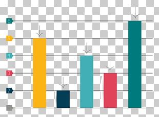 Bar Chart Infographic Diagram PNG