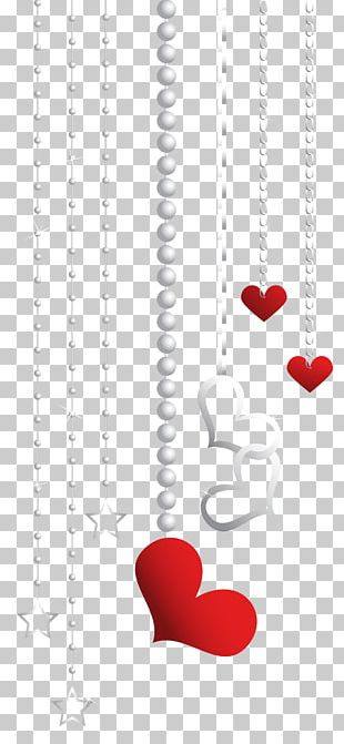 Heart Red Pattern PNG