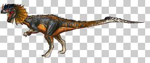Tyrannosaurus Dilophosaurus ARK: Survival Evolved Giganotosaurus Velociraptor PNG