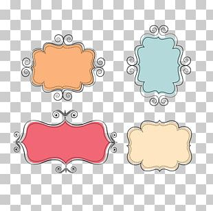 Label Page Layout Box Sticker Frames PNG