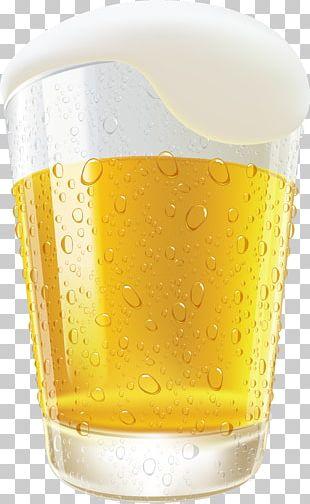 Wheat Beer Beer Glasses Ice Beer PNG