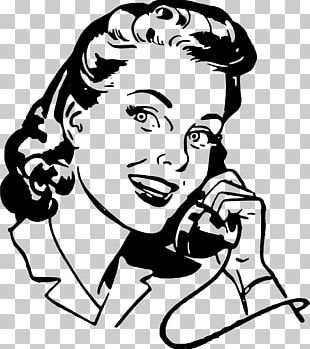 Mobile Phones Telephone Woman PNG